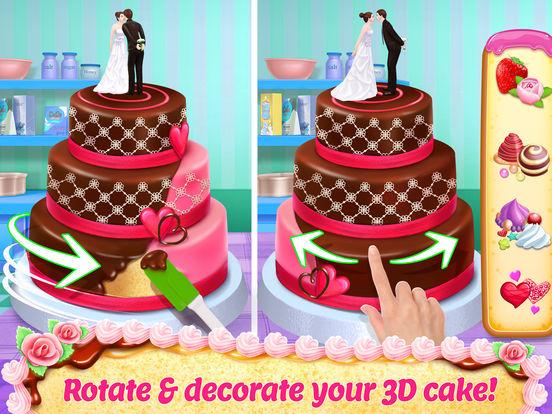 Real Cake Maker 3D Bakery screenshot 6