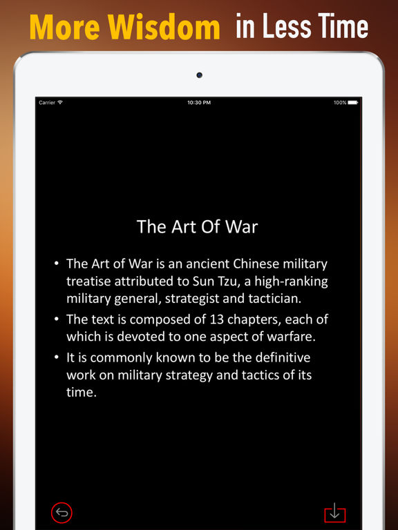 Practical Guide For The Art of War screenshot 6