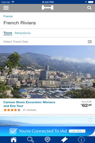 French Riviera Hotels + Compare and Booking Hotel  - náhled