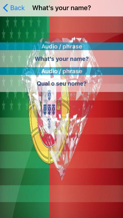 Portuguese Phrases screenshot 3
