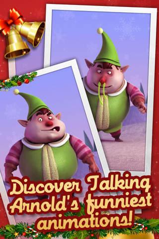 Talking Arnold the Elf - náhled