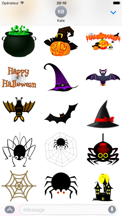 Happy Halloween • Stickers screenshot 2