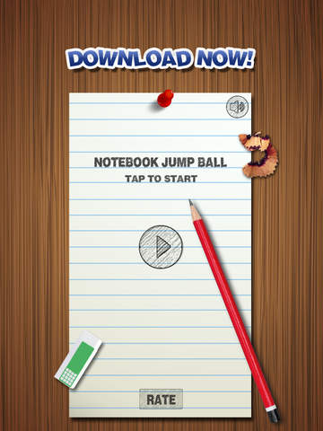 Notebook Jump Ball - náhled