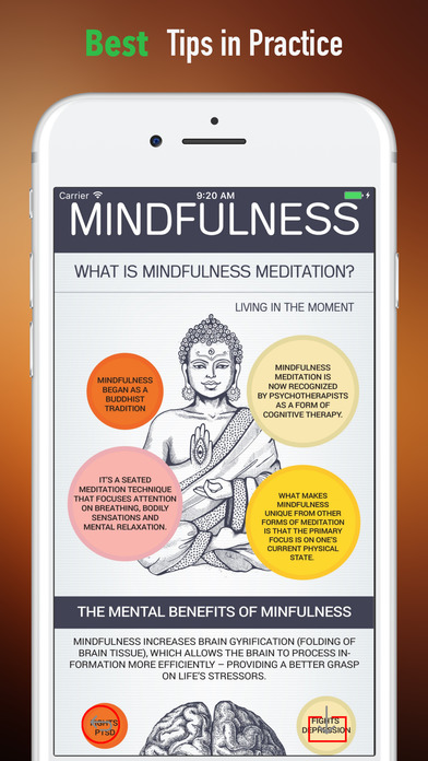 Mindfulness Practice-Tips and Tutorial screenshot 4