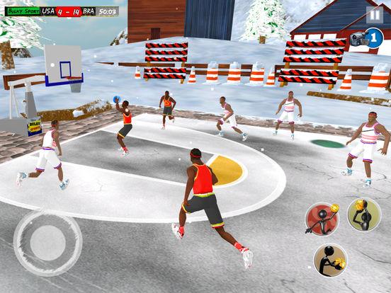 Play Basketball JAM 2017 Christmas Holidays Ed. 3D screenshot 6