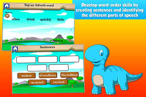 Dino Third Grade Kids Games School Edition - náhled