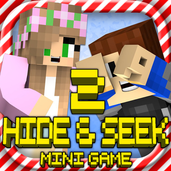 HIDE & SEEK 2: MC Survival Hunter Mini Block Game with Multiplayer
