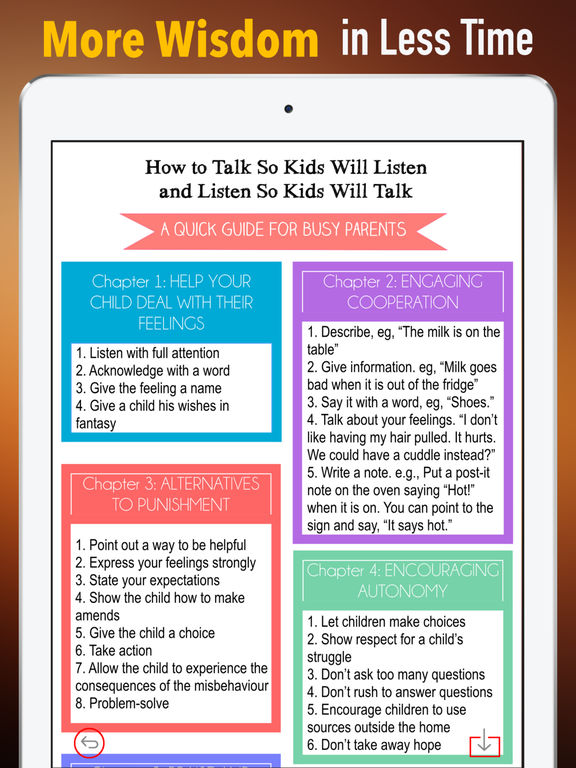 Practical Guide - How to Talk So Kids Will Listen screenshot 6