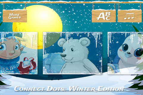 A Winter Adventure - Learn numbers - náhled