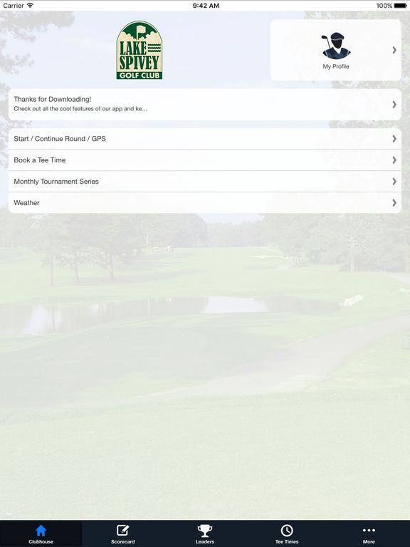 Lake Spivey Golf Club screenshot 7