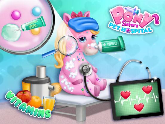 Pony Sisters Pet Hospital - No Ads screenshot 10