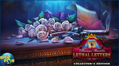 Danse Macabre: Lethal Letters - A Mystery Hidden Object Game (Full) screenshot 5
