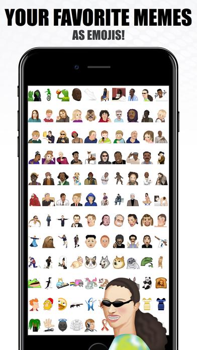 MemeMojis - Meme Emojis, Stickers, iMeme screenshot 2