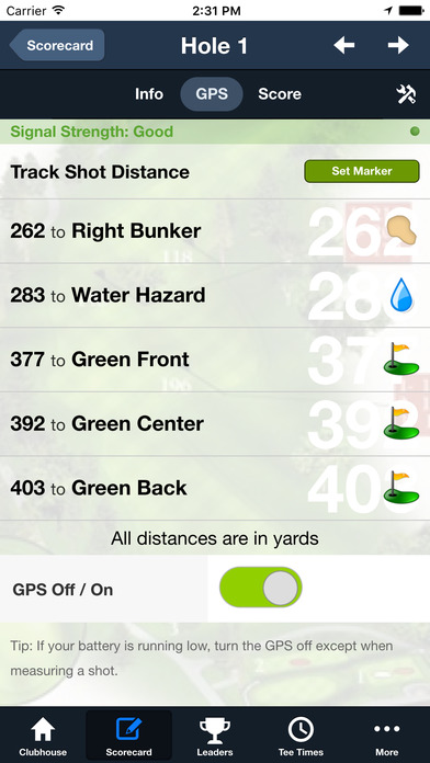 Green Valley Country Club screenshot 4