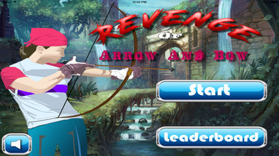 A Revenge Of Arrow And Bow Pro - Best Cup Archery screenshot 1