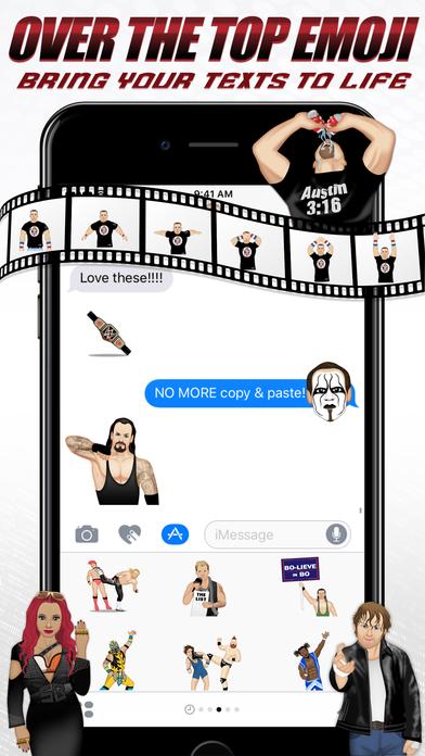 WWEmoji screenshot 4