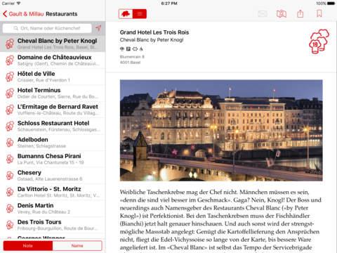 GaultMillau Guide Schweiz 2017 - náhled