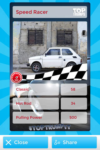 Top Trump It – Make Your Own Top Trumps Card - náhled
