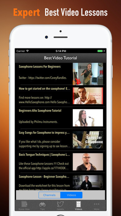 Self Learn Saxophone: Beginner Skills and Tutorial screenshot 3