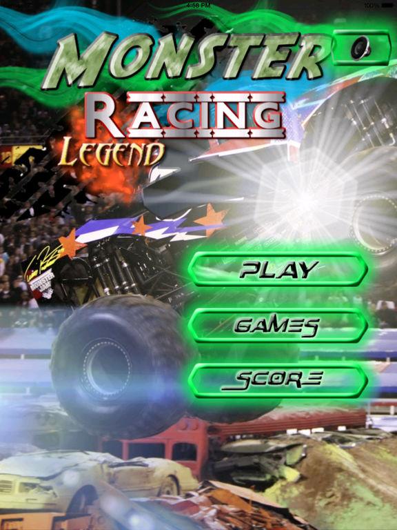 A Monster Racing Legend - Racing Game screenshot 6