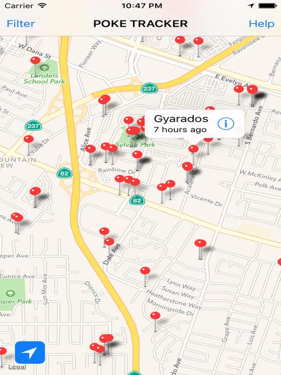 Poke Tracker Pro - Live Radar Map for Pokemon GO   Apps   148Apps