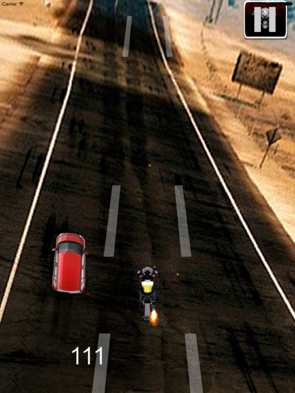 A Speed Motorcycle Chopper - Awesome Real Race screenshot 10
