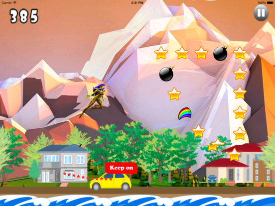 A Fantastic In Funny Jumps PRO - Girl Jumping Game screenshot 8