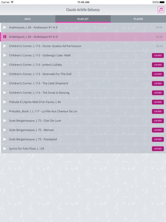 Claude Debussy - Classical Music screenshot 7