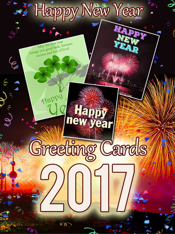 2017 - Happy New Year Cards & Greetings screenshot 5