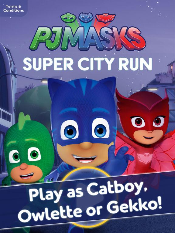 PJ Masks™: Super City Run screenshot 6