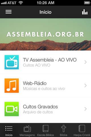 Assembleia de Deus Online - náhled