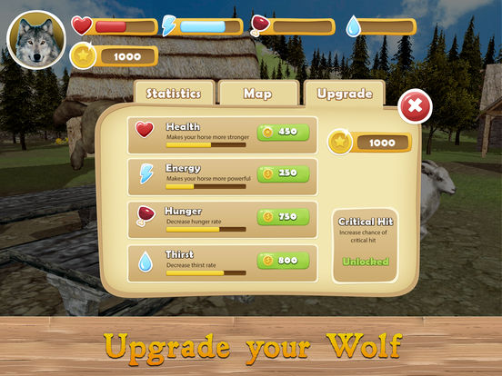 Evil Wild Wolf Simulator 3D screenshot 8