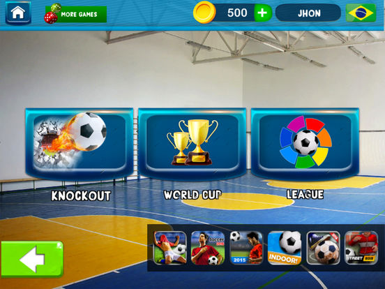 Indoor Soccer Futsal 19 screenshot 7