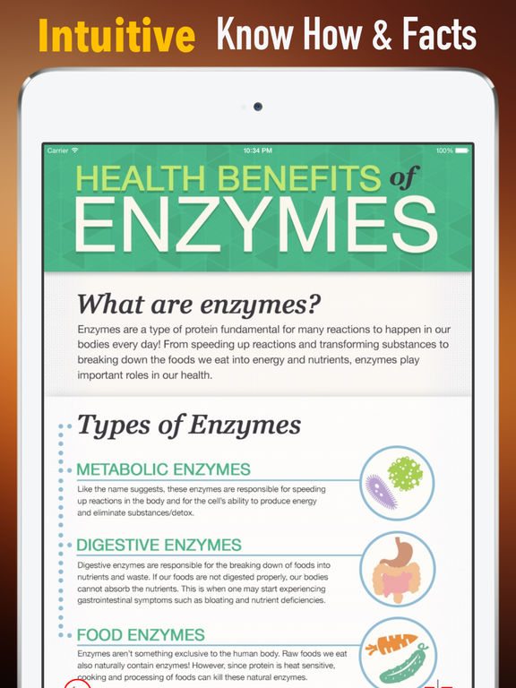 Enzymes 101:Healthy Healing screenshot 6