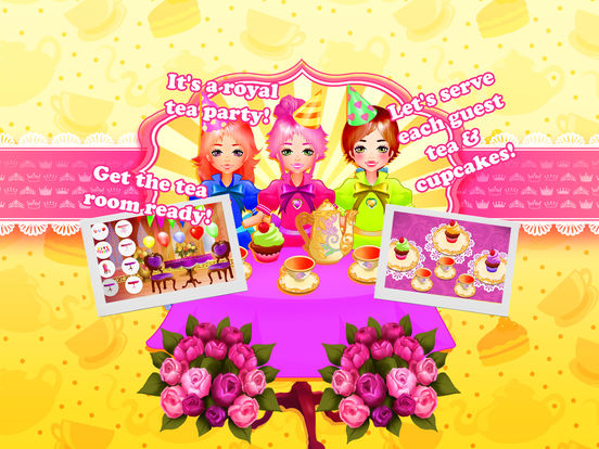 Princess Anna Tea Party - Cooking & Dress Up screenshot 10