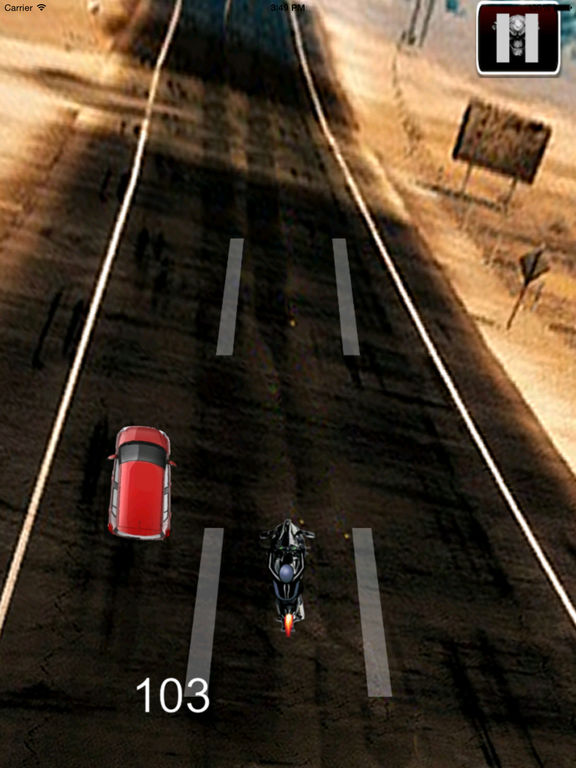 A Nitro Biker Race Ultra - Motorcycle Driving 3D Game screenshot 7