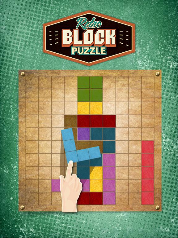 Retro Block Puzzle Game screenshot 6