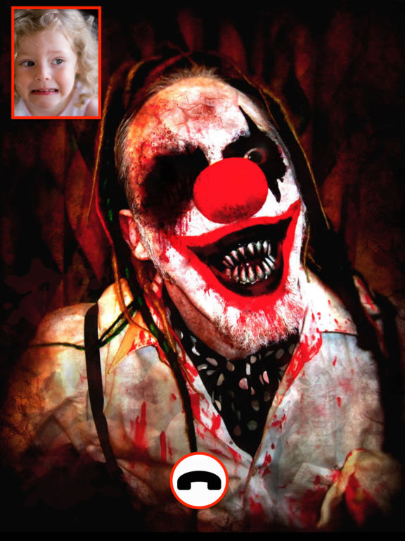 Video Call from Killer Clown - Creepy Video Call screenshot 2