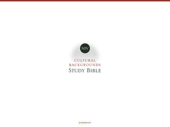 NIV Cultural Backgrounds Study Bible screenshot 6