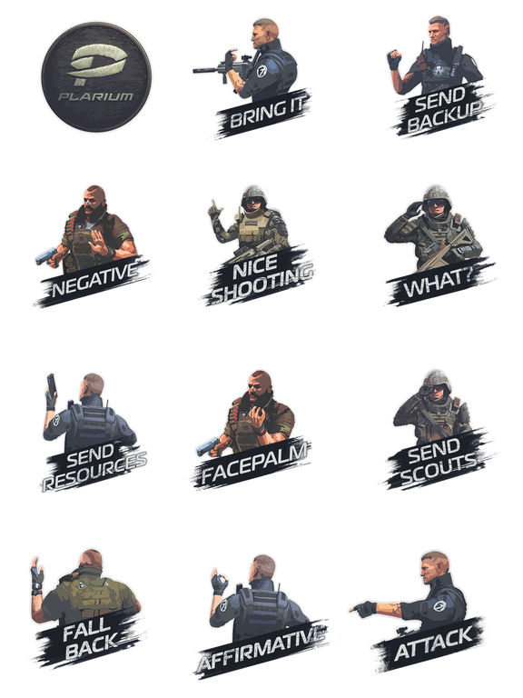 Soldiers Inc. Sticker Pack screenshot 2