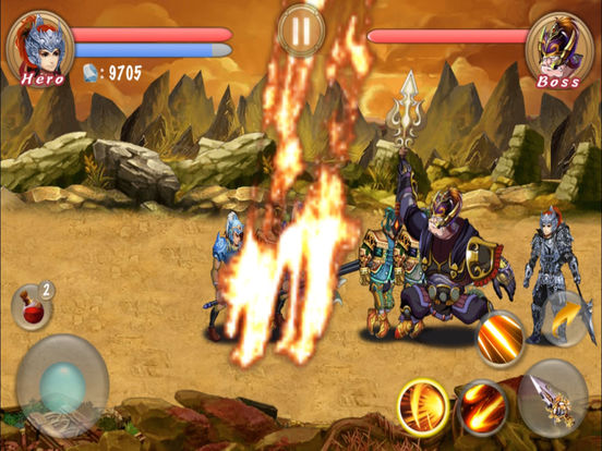 Action RPG-Blade Of Dragon Hunter Pro screenshot 10
