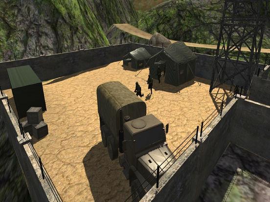 Army Death Parking Track : War Zone screenshot 5