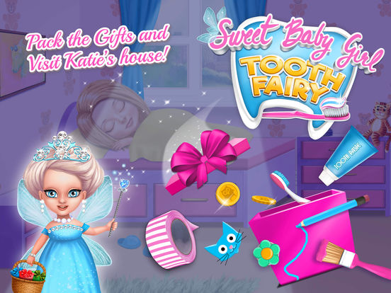 Sweet Baby Girl Tooth Fairy - Little Fairyland screenshot 10