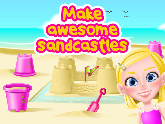 BFF Summer Fun - Happy Holidays at the Beach screenshot 9