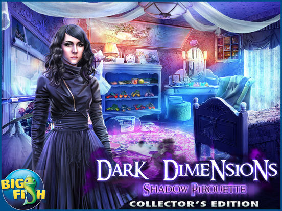 Dark Dimensions: Shadow Pirouette HD - A Scary Hidden Object Game screenshot 5