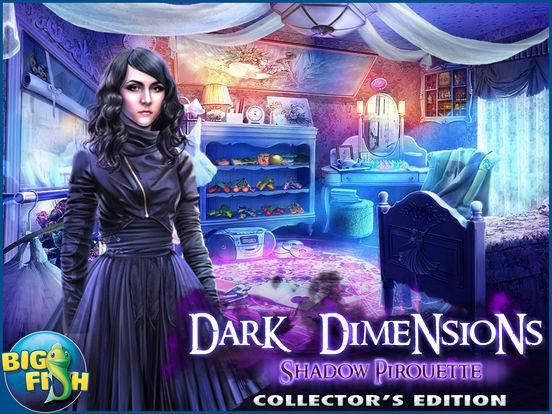Dark Dimensions: Shadow Pirouette HD - A Scary Hidden Object Game screenshot 5