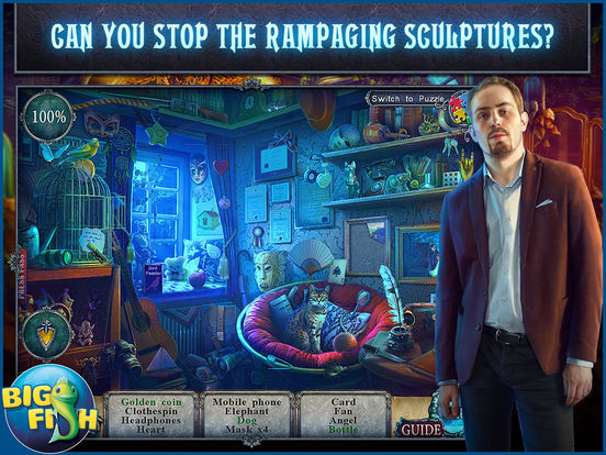 Fear for Sale: City of the Past HD - A Hidden Object Mystery (Full) screenshot 2