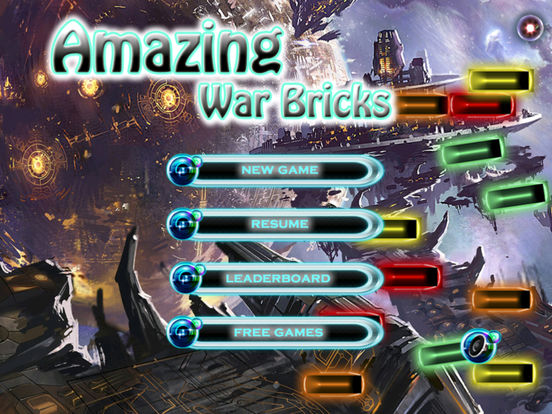 Amazing War Bricks - Ball Blast Game screenshot 6