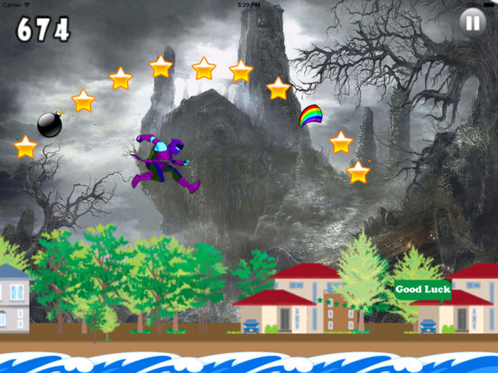 A Lost Girl Jumping Castles - Game Big screenshot 8