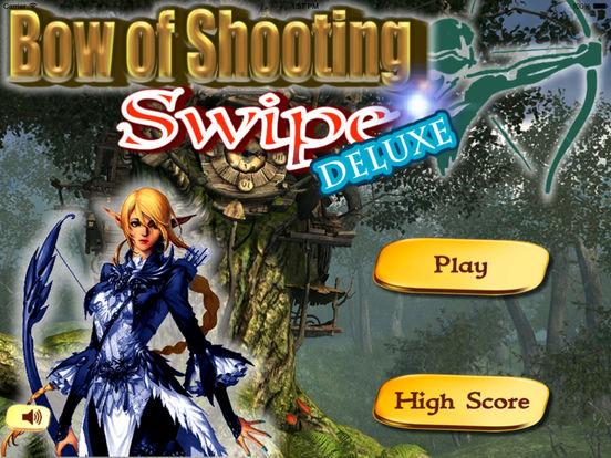 Bow of Shooting Swipe Deluxe - Target Shooting Game screenshot 6